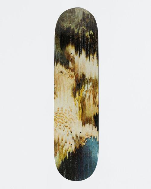 MEDICOM TOY Sync x Kosuke Kawamura Family portrait skateboard deck