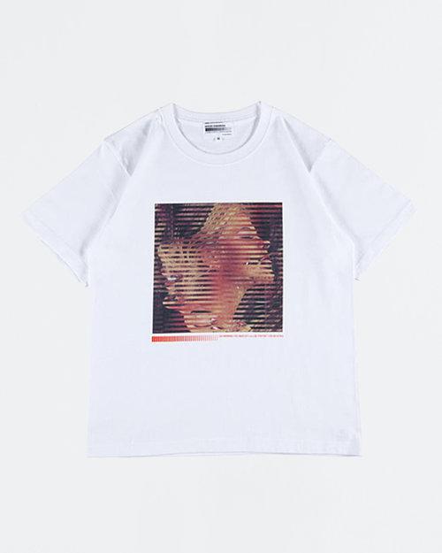 "MEDICOM TOY Sync. X Kokuse Kawamura T-Shirt ""Alternate"" White"
