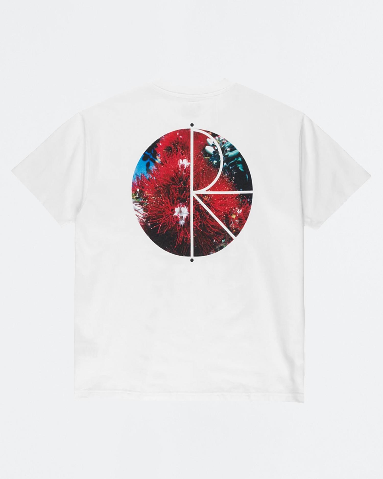 Polar Callistemon Fill Logo Tee White