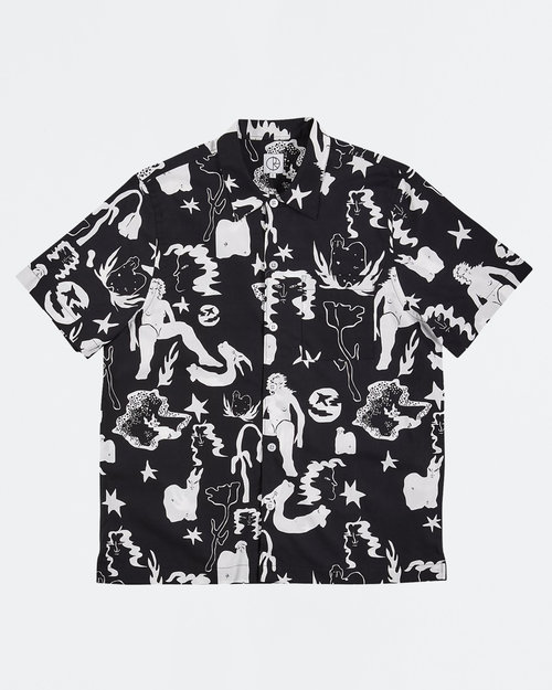 Polar Polar East Dream Shirt Black/White