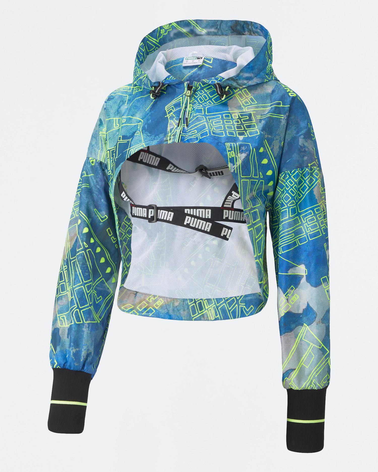 Puma x CSM Cropped jacket White/AOP