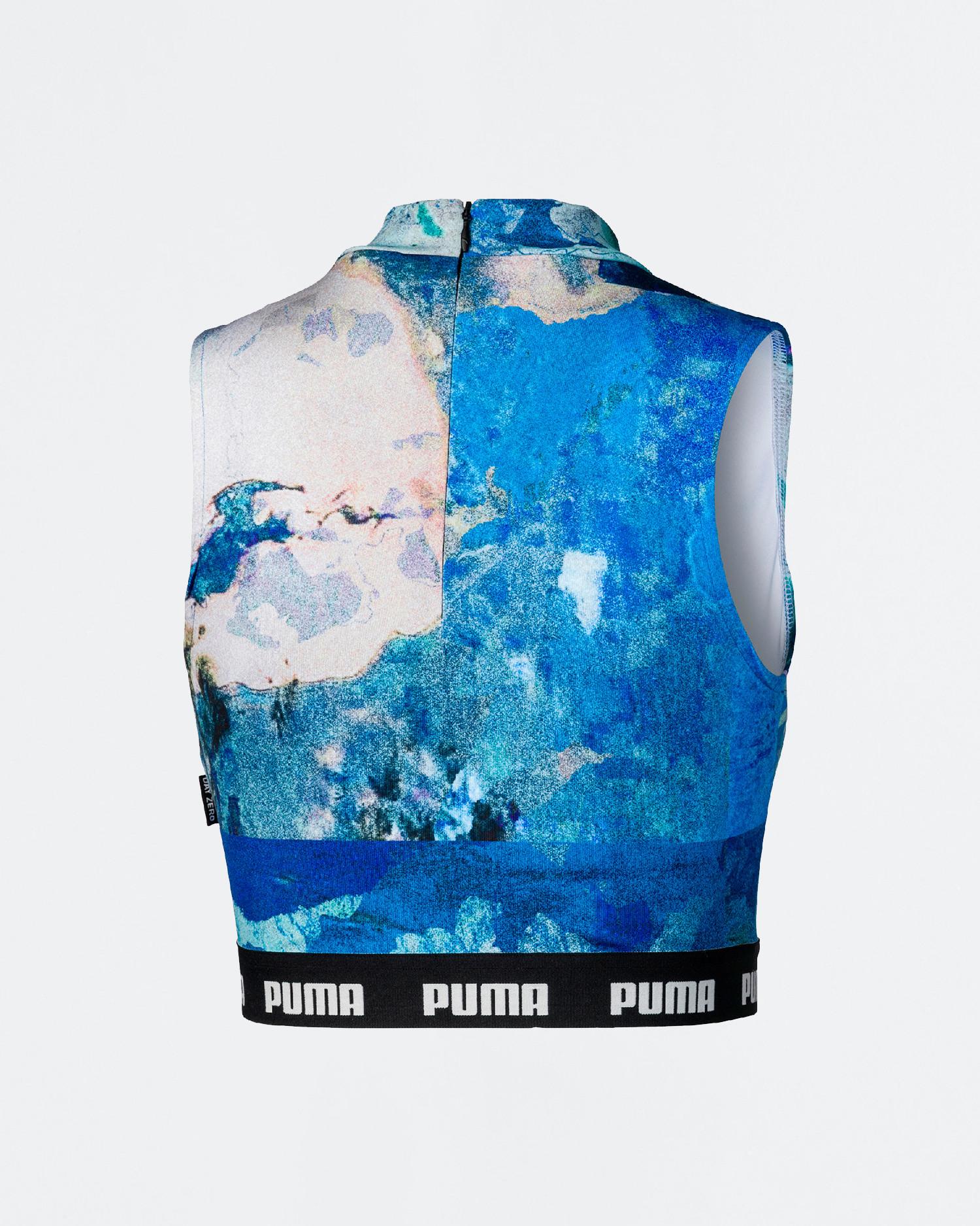 Puma x CSM top White/AOP