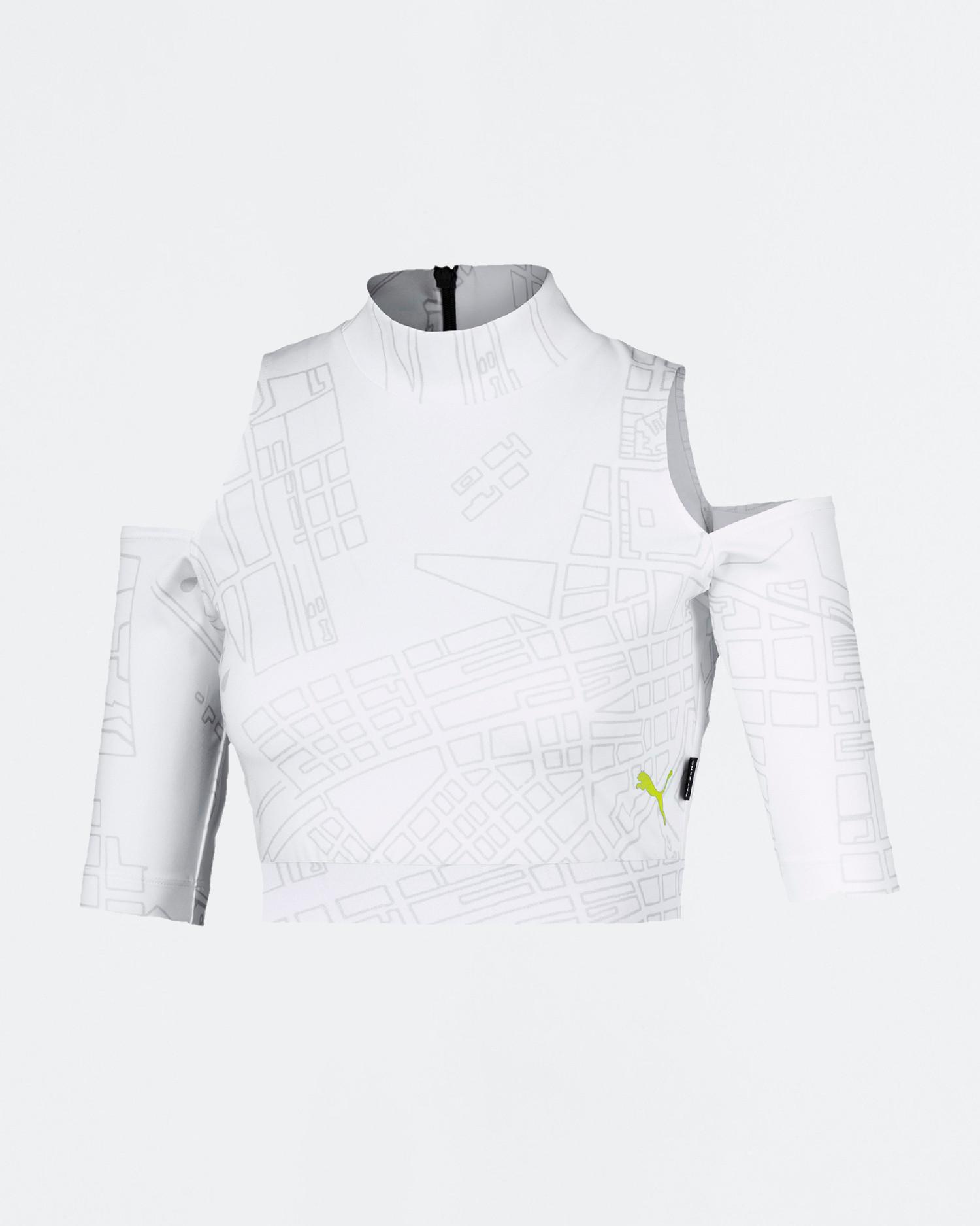 Puma x CSM ss top White/AOP