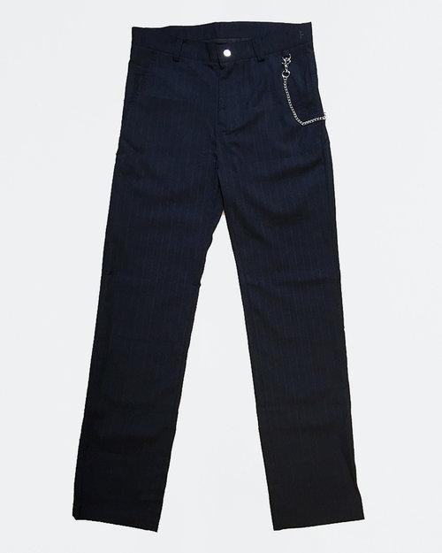 Former Former Harmony Li Pant Navy Stripes