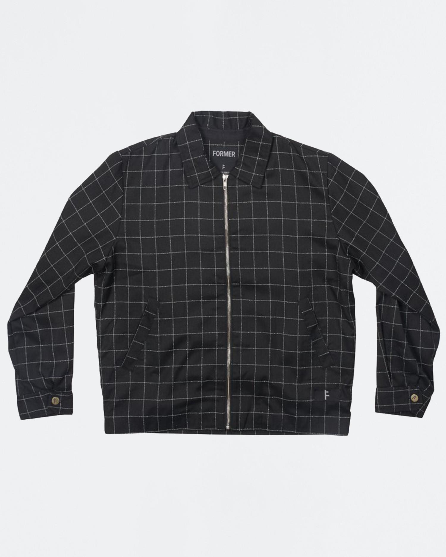 Former Cage Workwear Jacket Black Squared