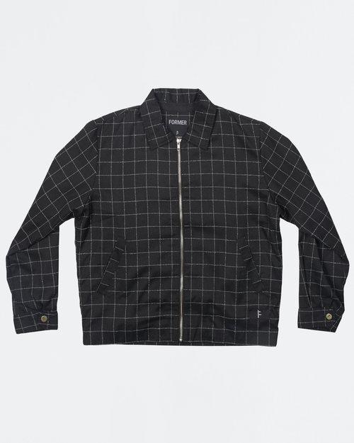 Former Former Cage Workwear Jacket Black Squared