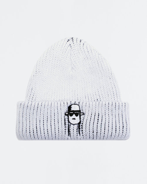 Fucking Awesome Fucking Awesome Spike Beanie White