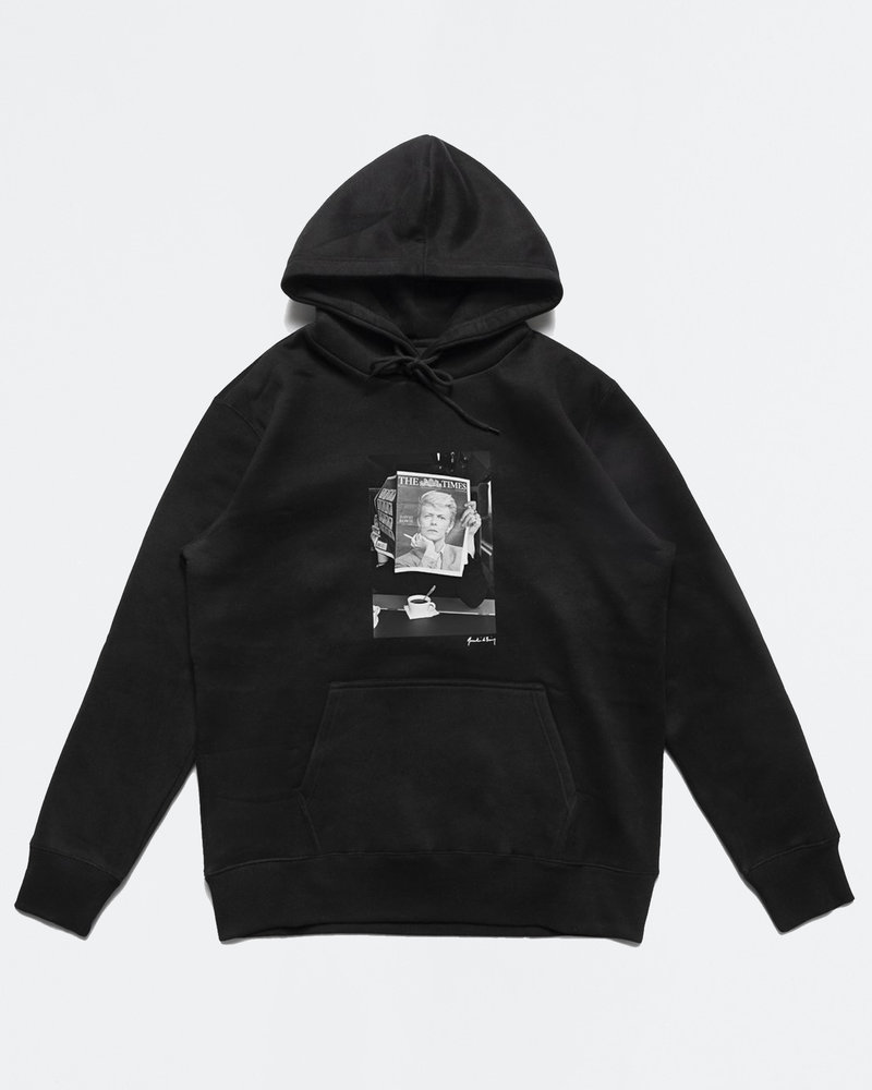Chrystie Chrystie NYC Quentin De Briey Photo Hoodie Black