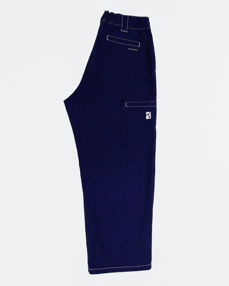Poetic Collective Poetic Collective Painter Pants Navy/White Seams