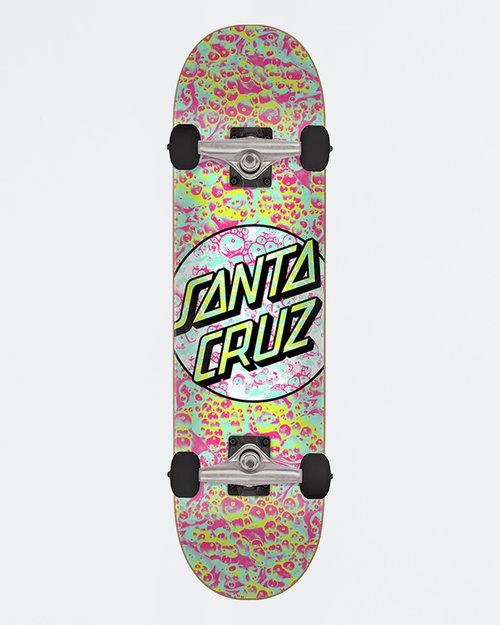 Santa Cruz Santa-Cruz Complete Foam Dot Teal Pink 7.5