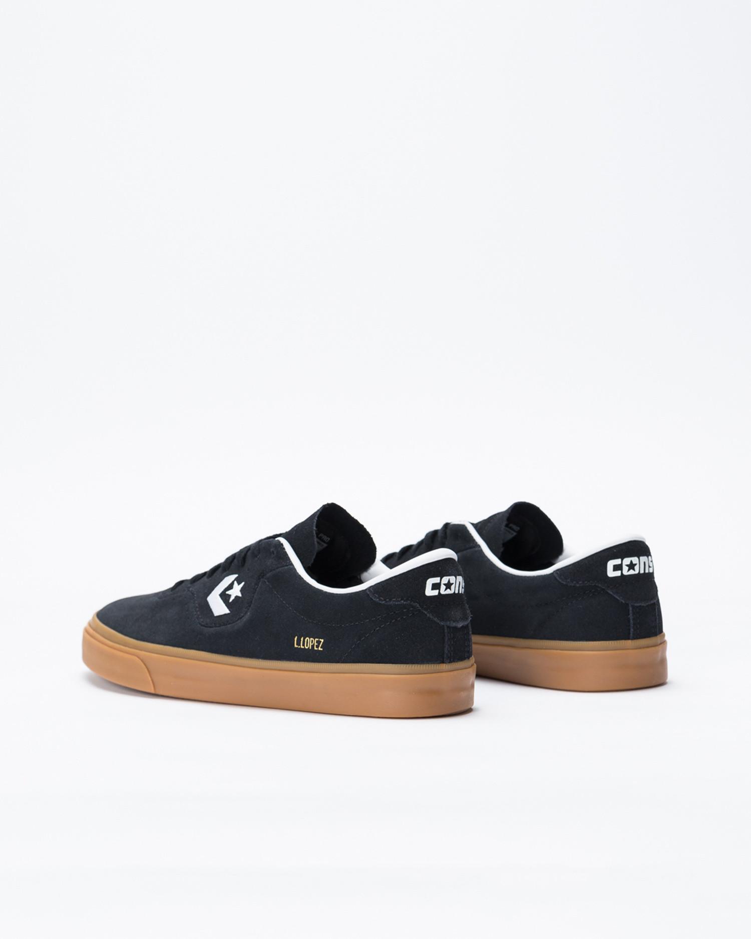 Converse Louie Lopez Pro OX Black/White/Gum