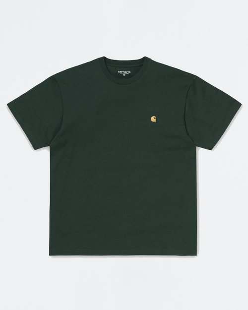 Carhartt Carhartt Shortsleeve T-shirt Bottle Green/Gold