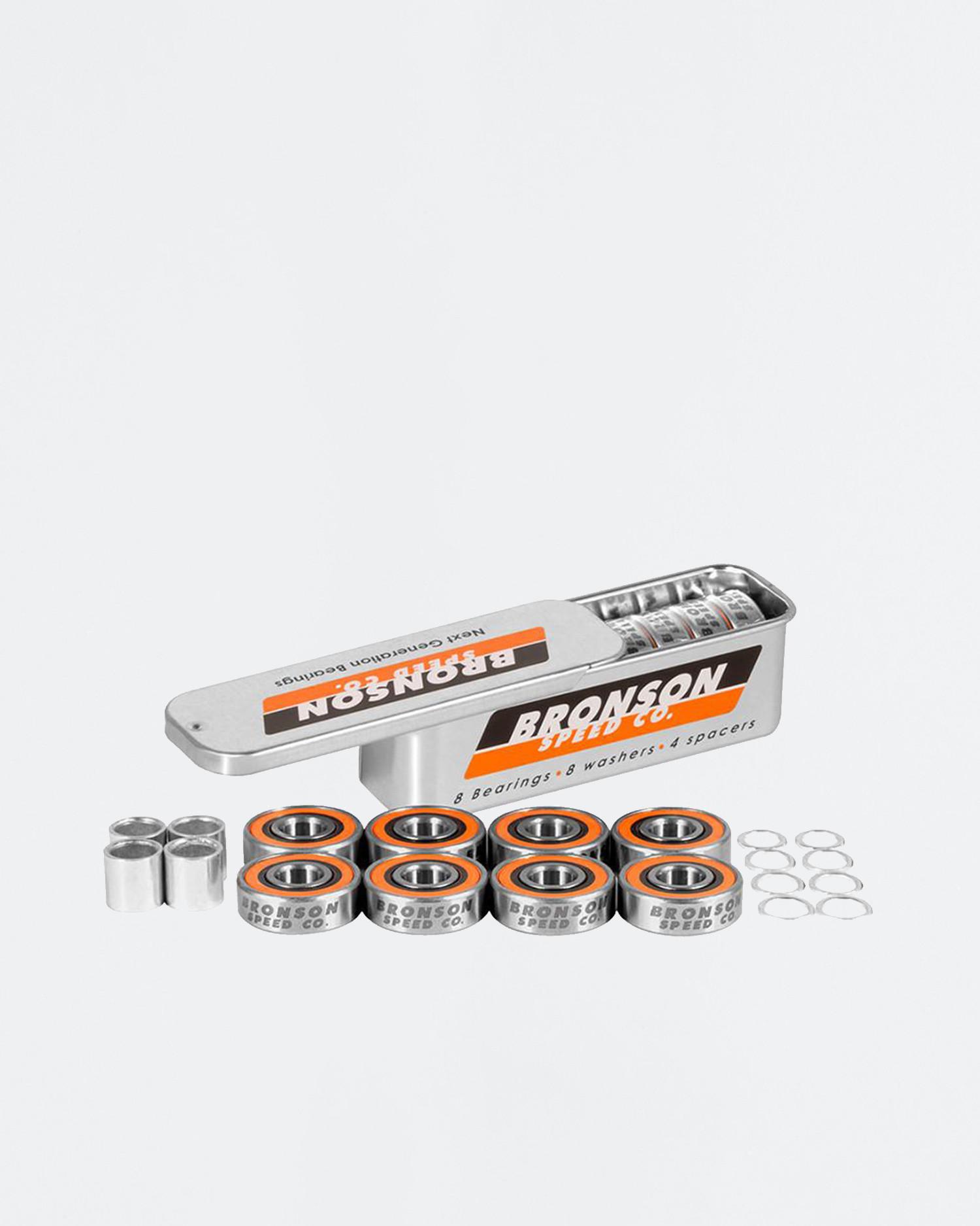 Bronson Speed Co G3 Orange Silver
