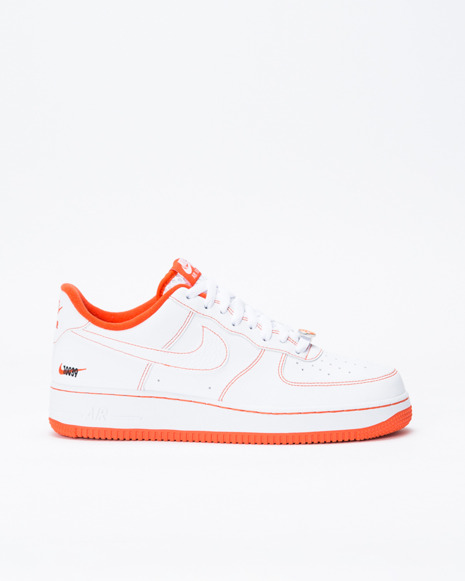 Nike Air Force 1'07 LV8 EMB White/Team Orange-Black