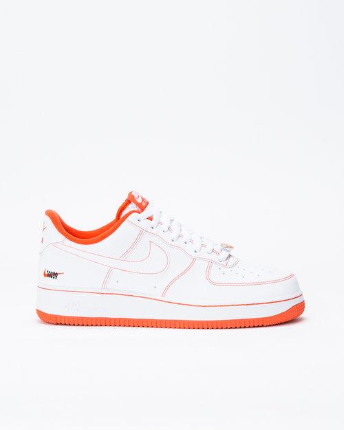 Nike Nike Air Force 1'07 LV8 EMB White/Team Orange-Black
