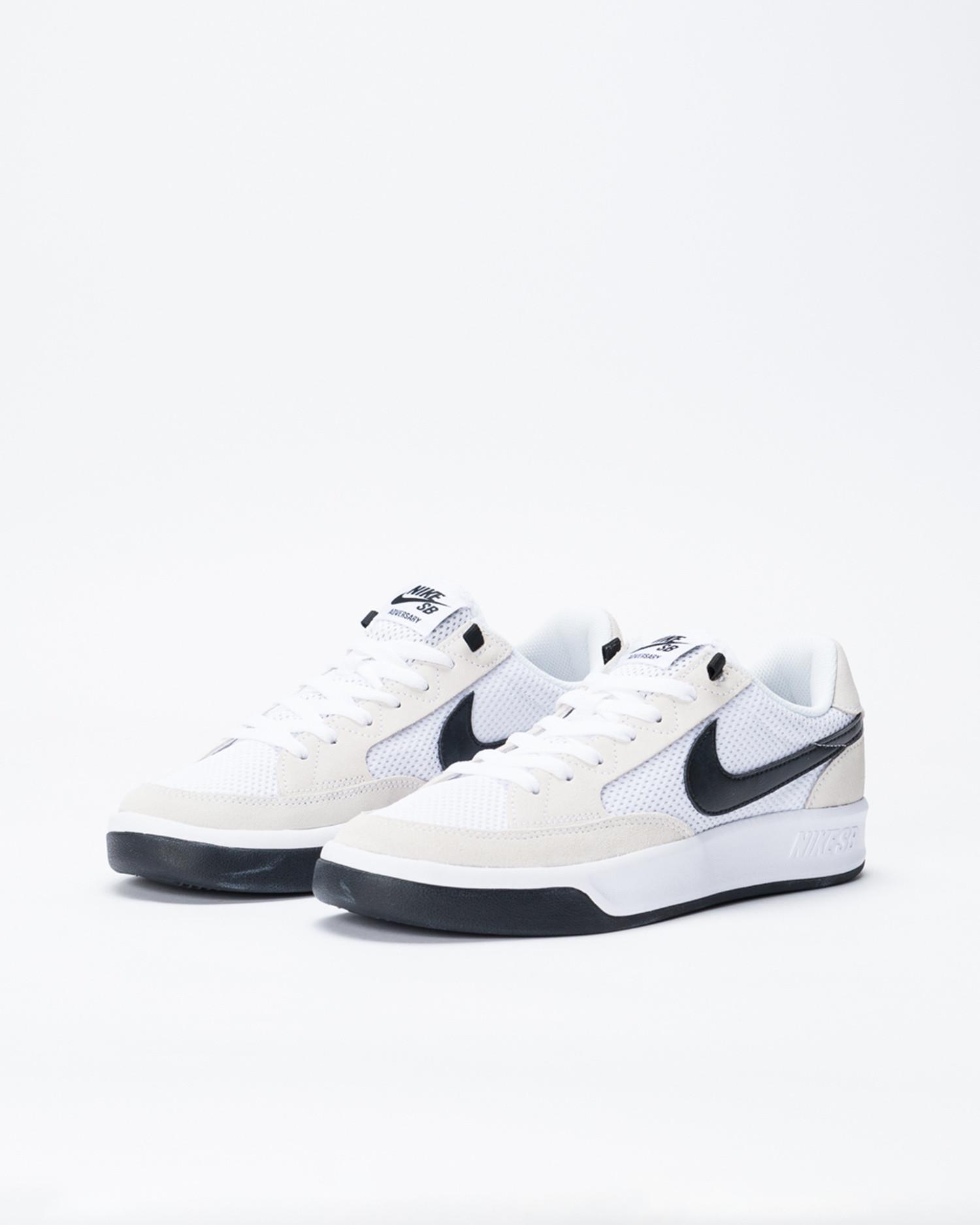 Nike SB Adversary White/Black-White