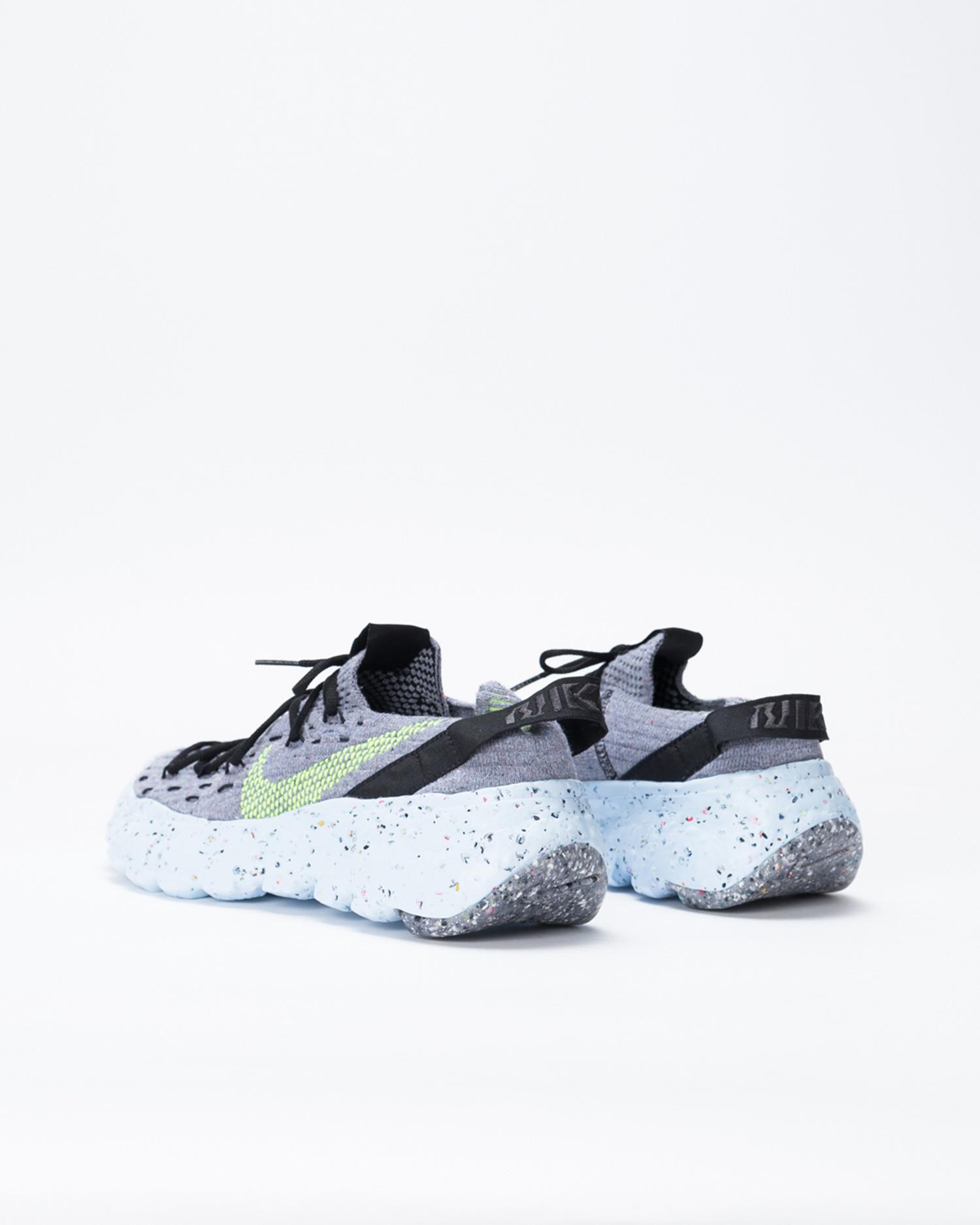 Nike W Space Hippie 04 Grey/Volt-Black-DK Smoke Grey