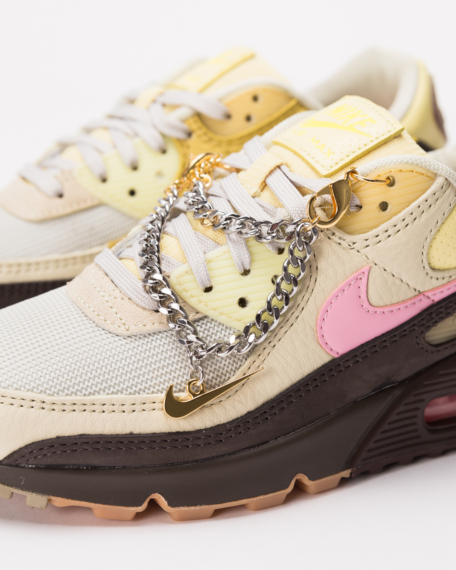 Nike Wmns Air Max 90 velvet brown/pink-lt british tan