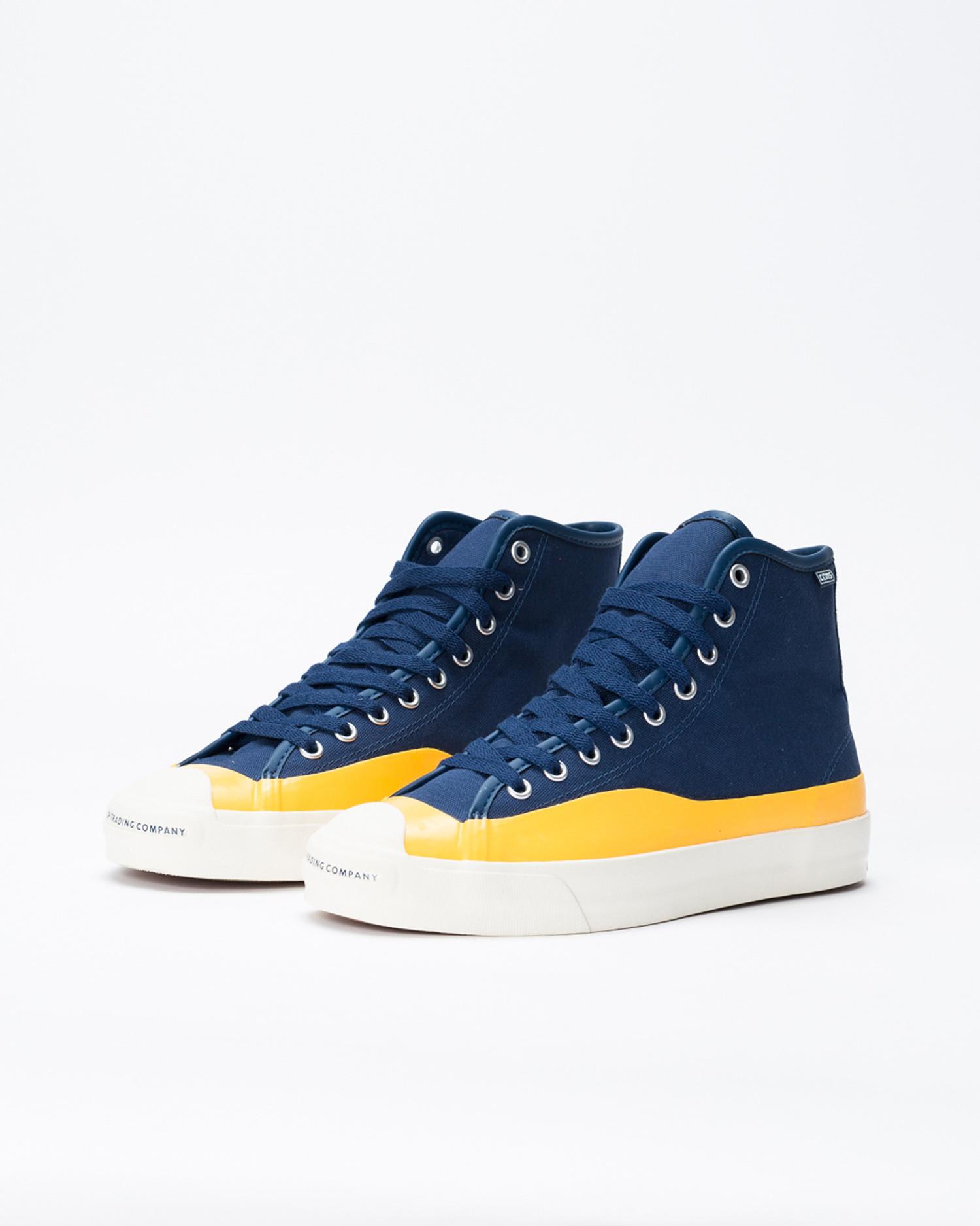 Converse Jack Purcell Pro Hi Pop Trading Company Navy/Citrus/Egret