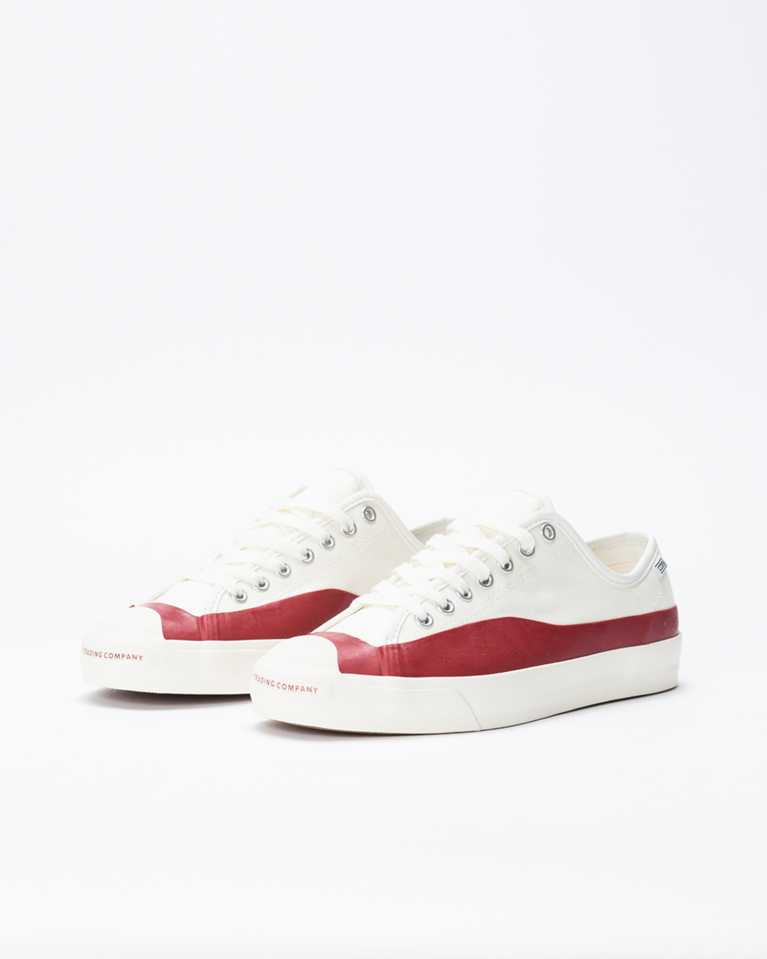 Converse Jack Purcell Pro Pop Trading Egret/Red Dahlia/Egret