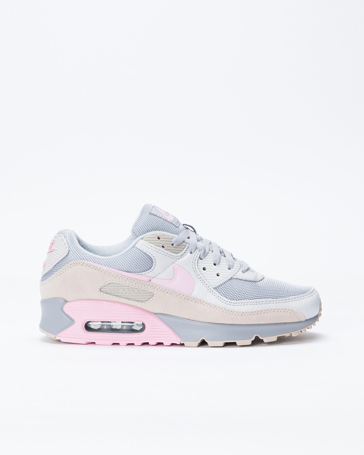 Nike Air Max 90 vast grey/pink-wolf grey-string