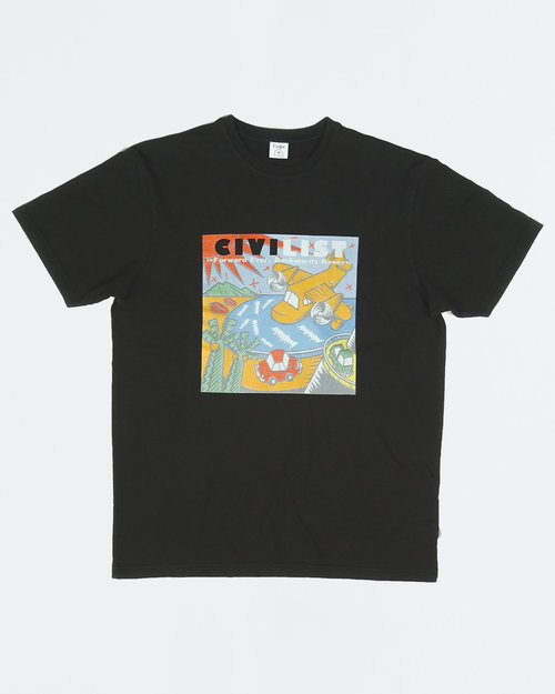 Civilist Civilist Forward Tee Pigment Dyed Black