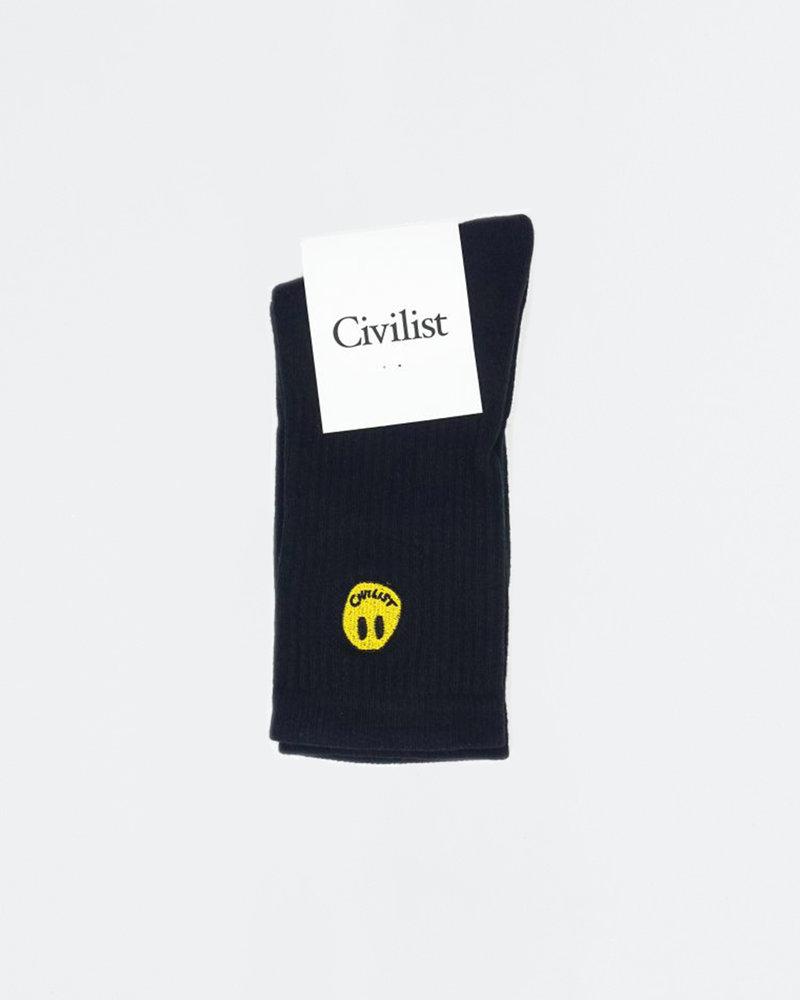 Civilist Civilist Smiler Socks Mini Black