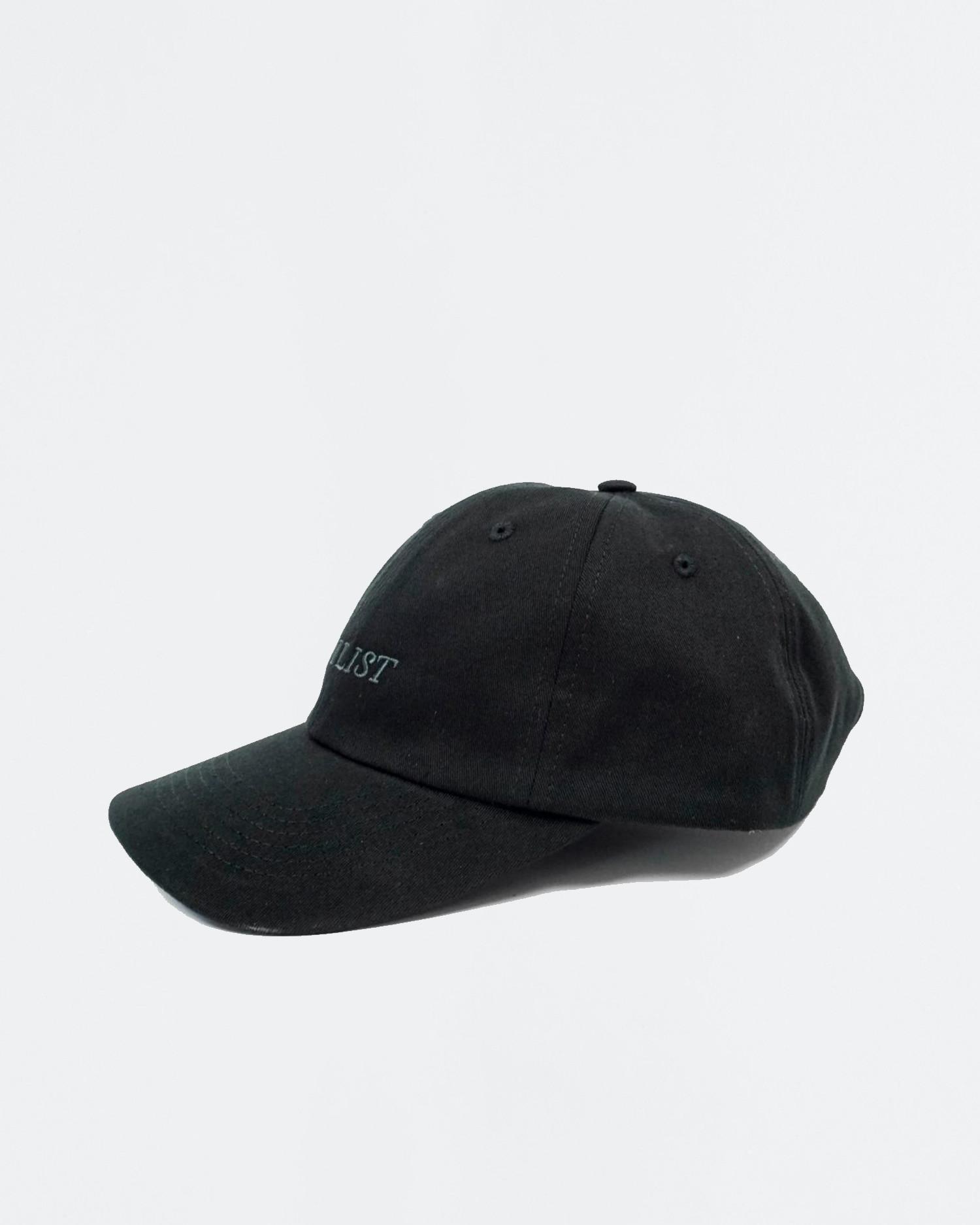 Civilist Sports Cap Black/Tonal