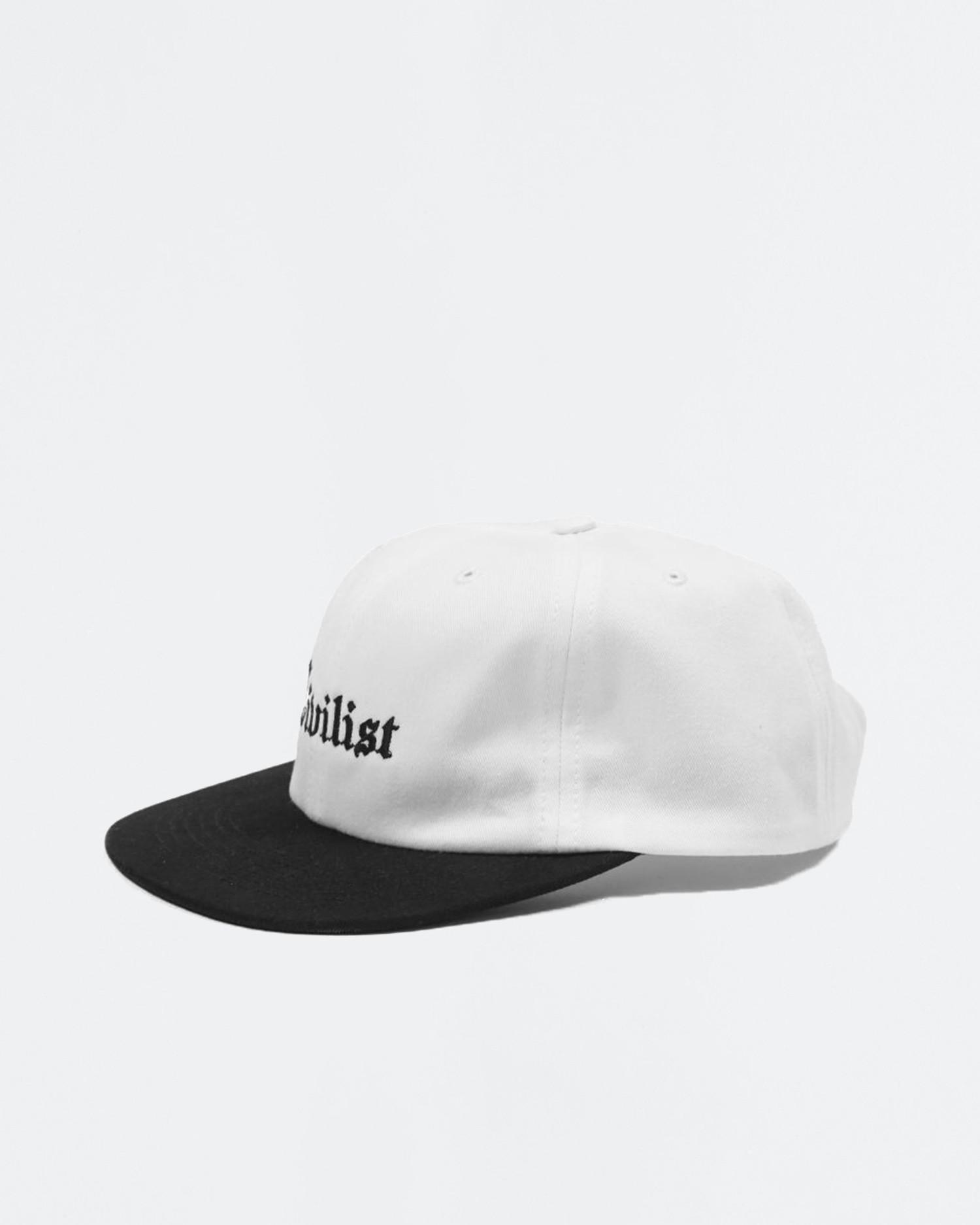 Civilist Sports Omni Cap White/Black