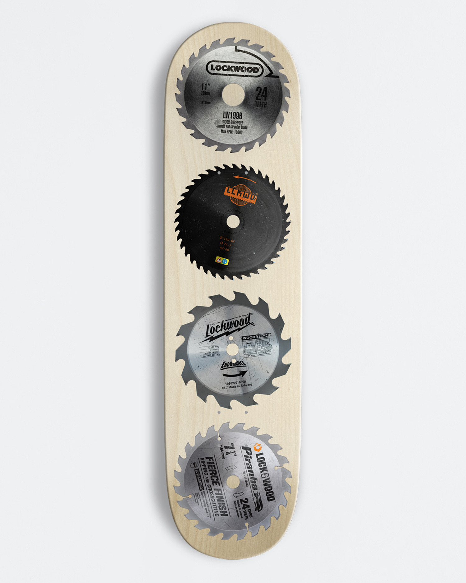 Lockwood Deck Sawblades 8.25""
