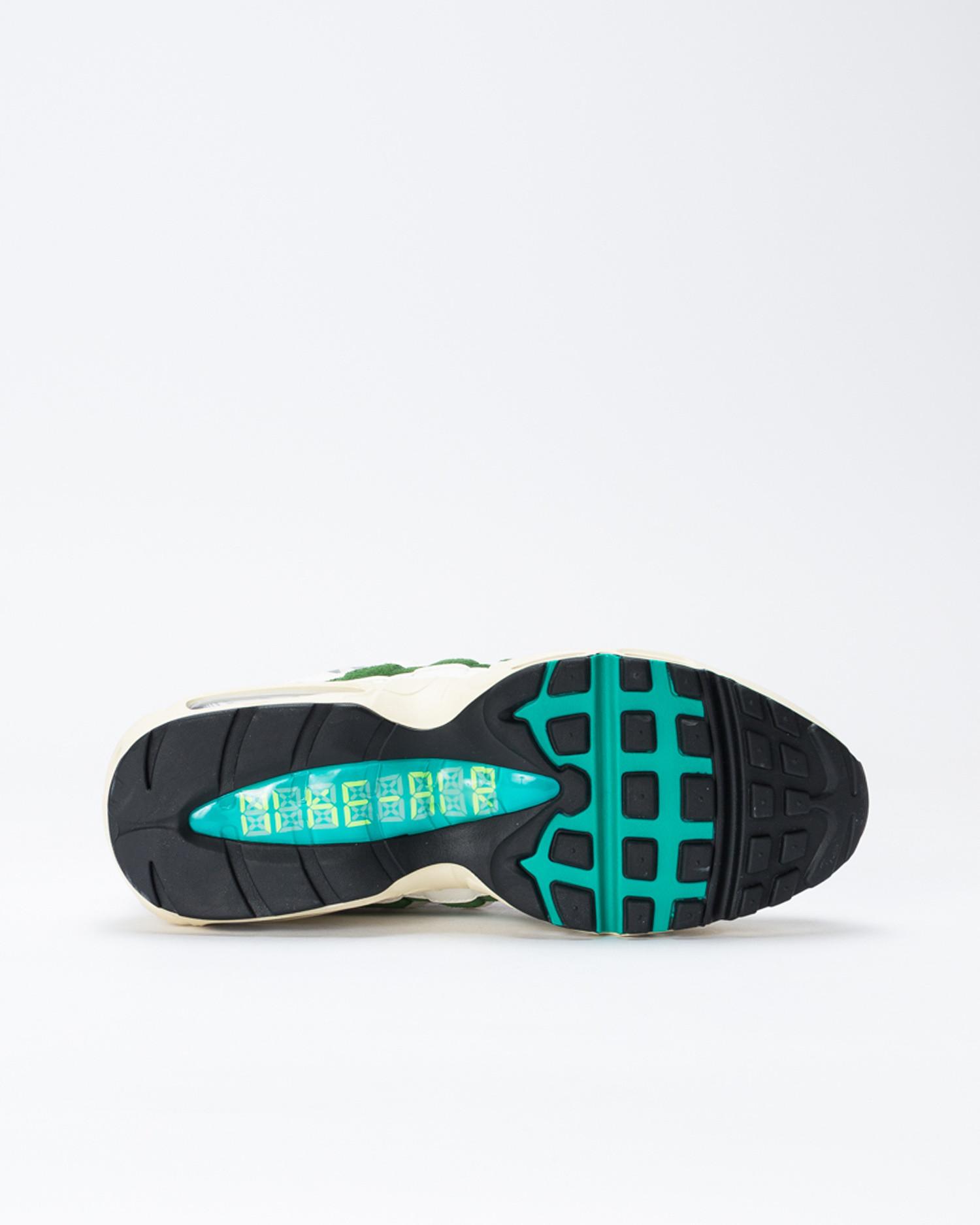 Nike Air Max 95 QS Era Sail/New Green-Forest Green