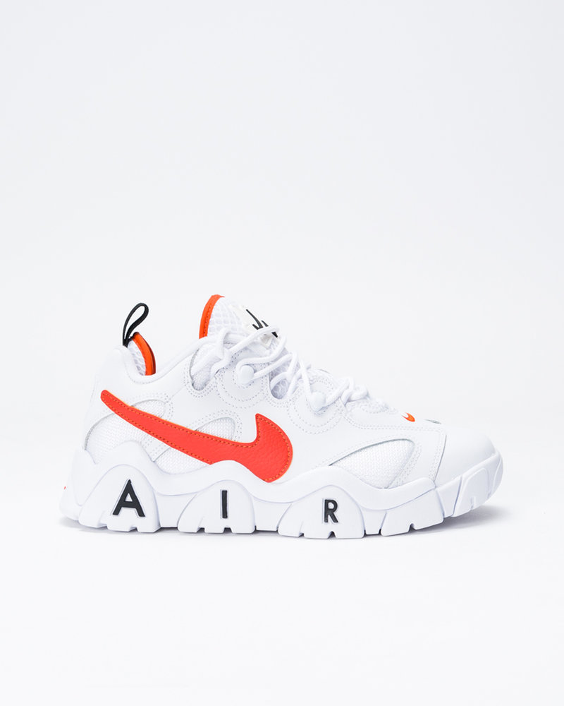 Nike Nike Air Barrage Low White/Team Orange-Black-Black