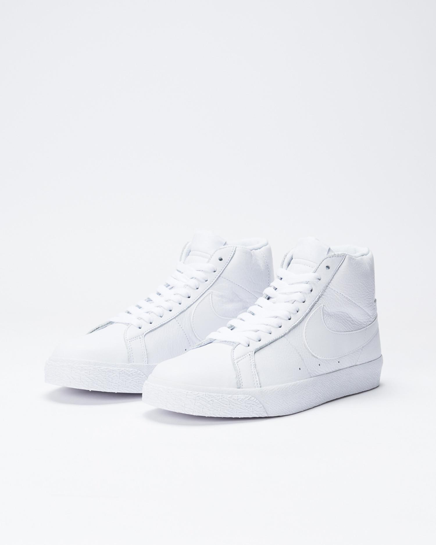 Nike SB Zoom Blazer Mid White/White-White