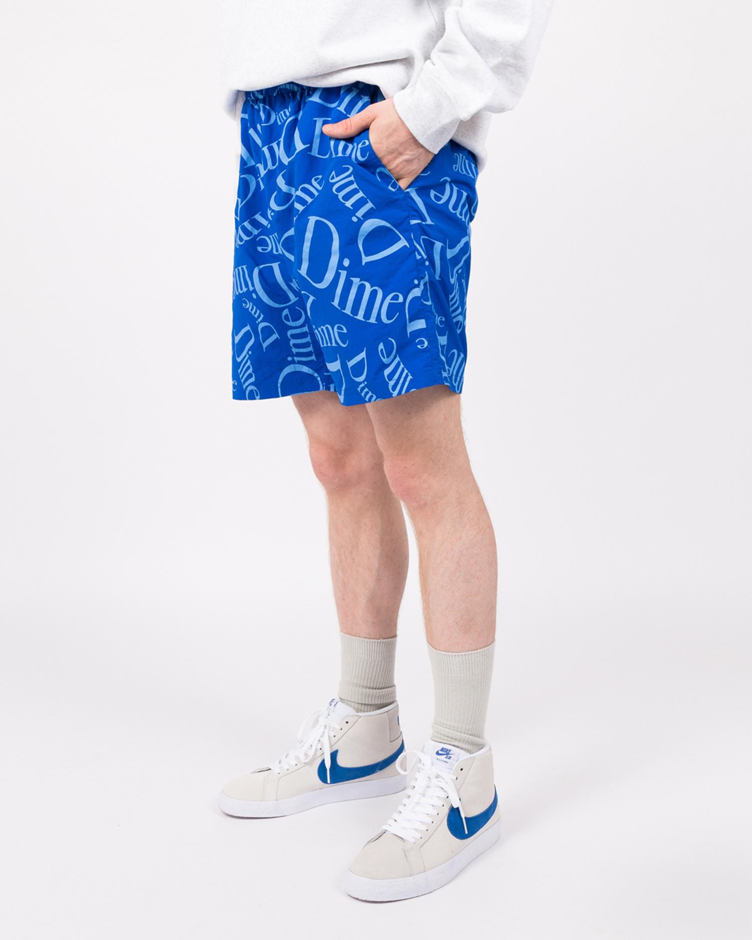 Dime Classic Pattern Shorts Royal