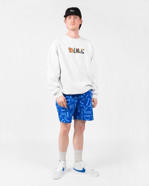 Dime Dime Classic Pattern Shorts Royal