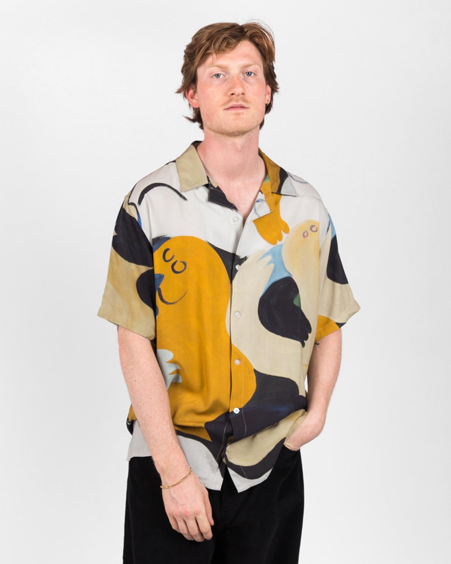 Dime Fresco Shirt Khaki/Navy