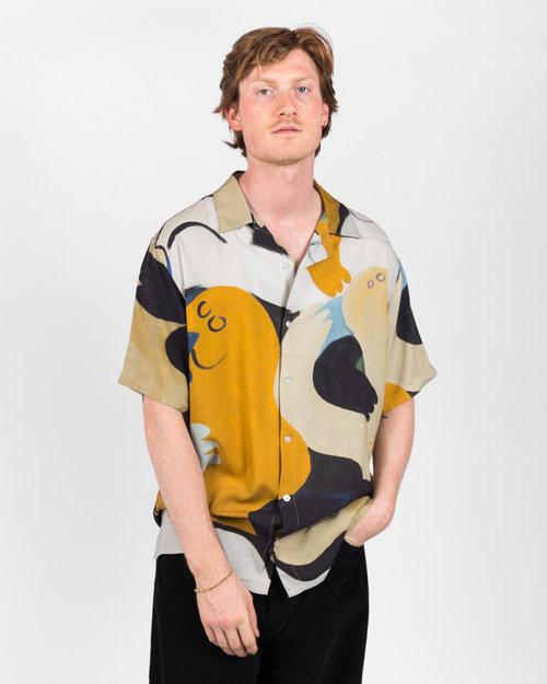 Dime Dime Fresco Shirt Khaki/Navy
