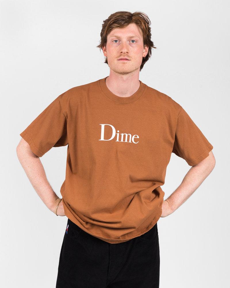 Dime Dime Classic Logo T-Shirt Coffee
