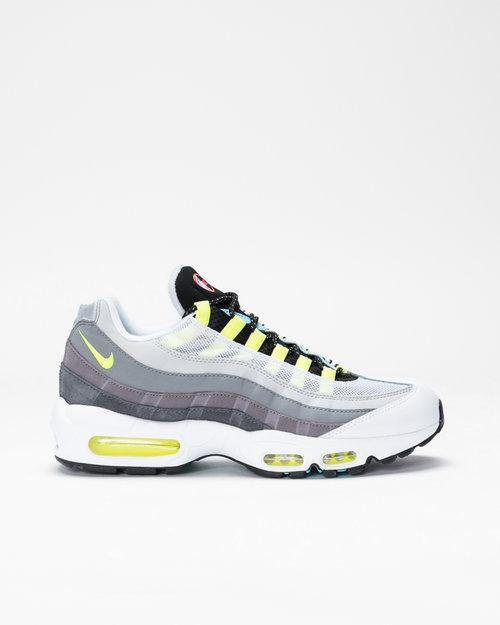 "Nike Nike Air Max 95 ""GREEDY 2.0"" Black/Multi-Color-Gunsmoke-Iron Grey"