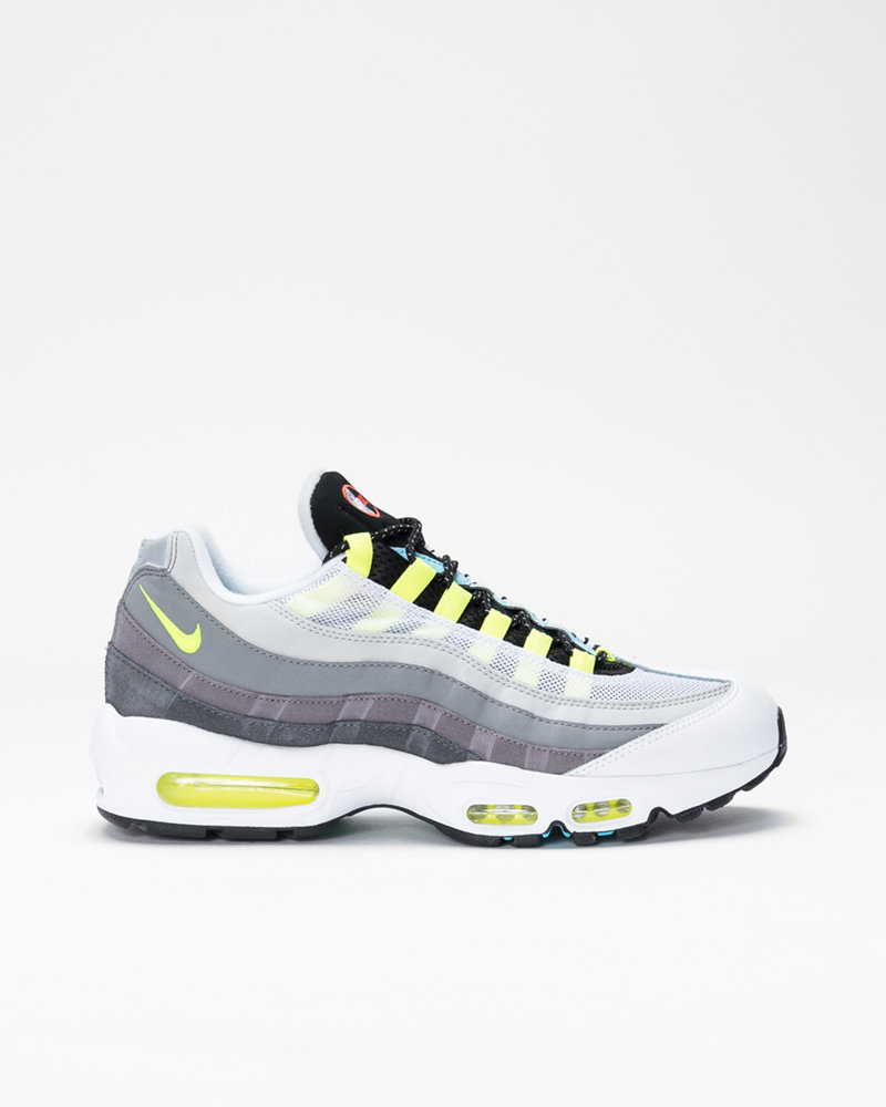 "Nike Nike Air Max 95 ""GREEDY 2.0"" Black/Multi-Color-Gunsmoke-Iron Grey"
