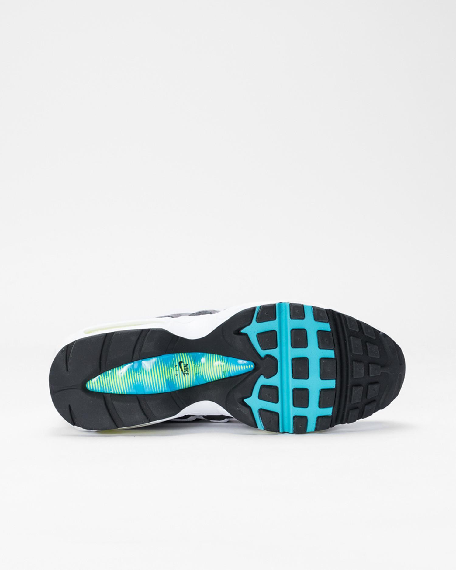 "Nike Air Max 95 ""GREEDY 2.0"" Black/Multi-Color-Gunsmoke-Iron Grey"
