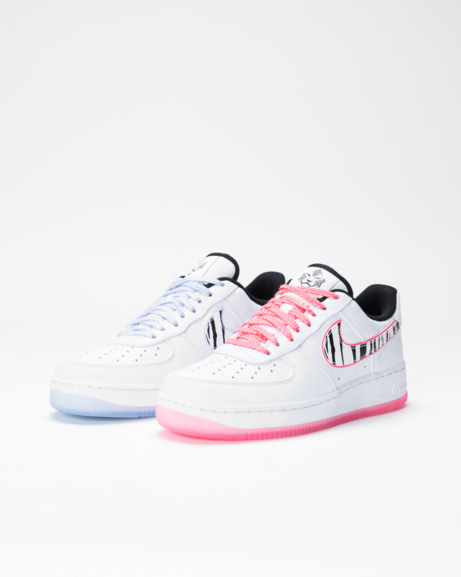 "Nike Air Force 1 '07 ""SOUTH KOREA"" White/Black-Multi-Color"