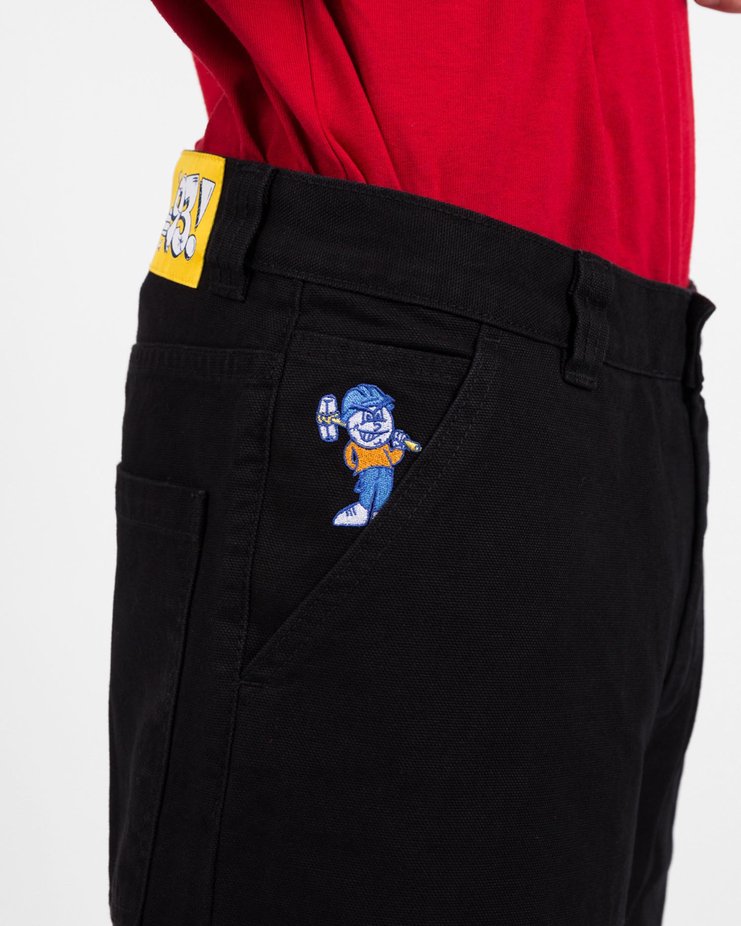 Polar 93 Canvas Shorts Black