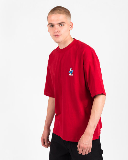 Polar Polar Surf T-Shirt Cherry