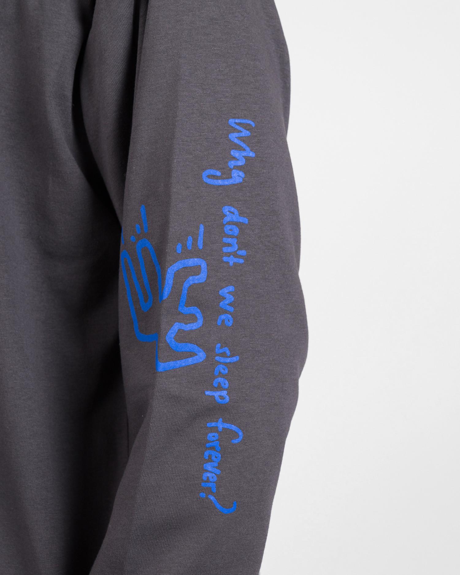 Polar Notebook Longsleeve T-Shirt Graphite