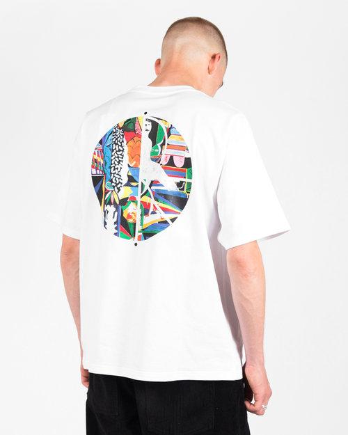 Polar Polar Memory Palace Fill Logo T-Shirt White