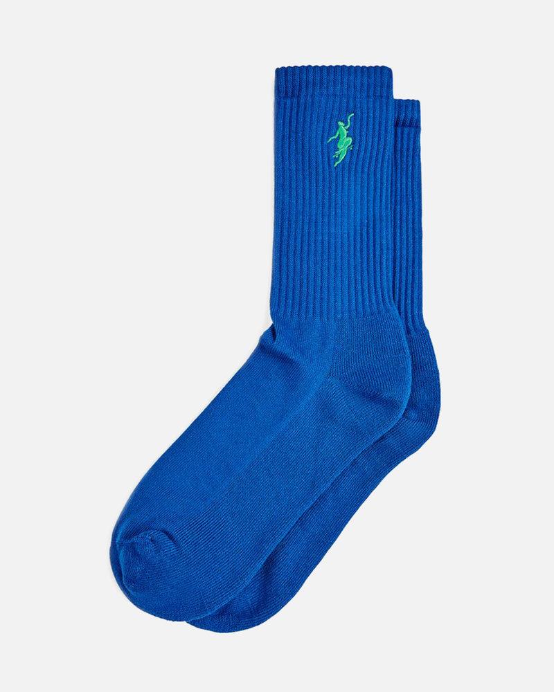 Polar Polar No Comply Socks Royal Blue