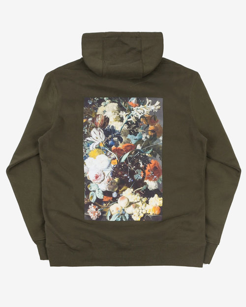 Poetic Collective Poetic Collective Flowers Hood Olive