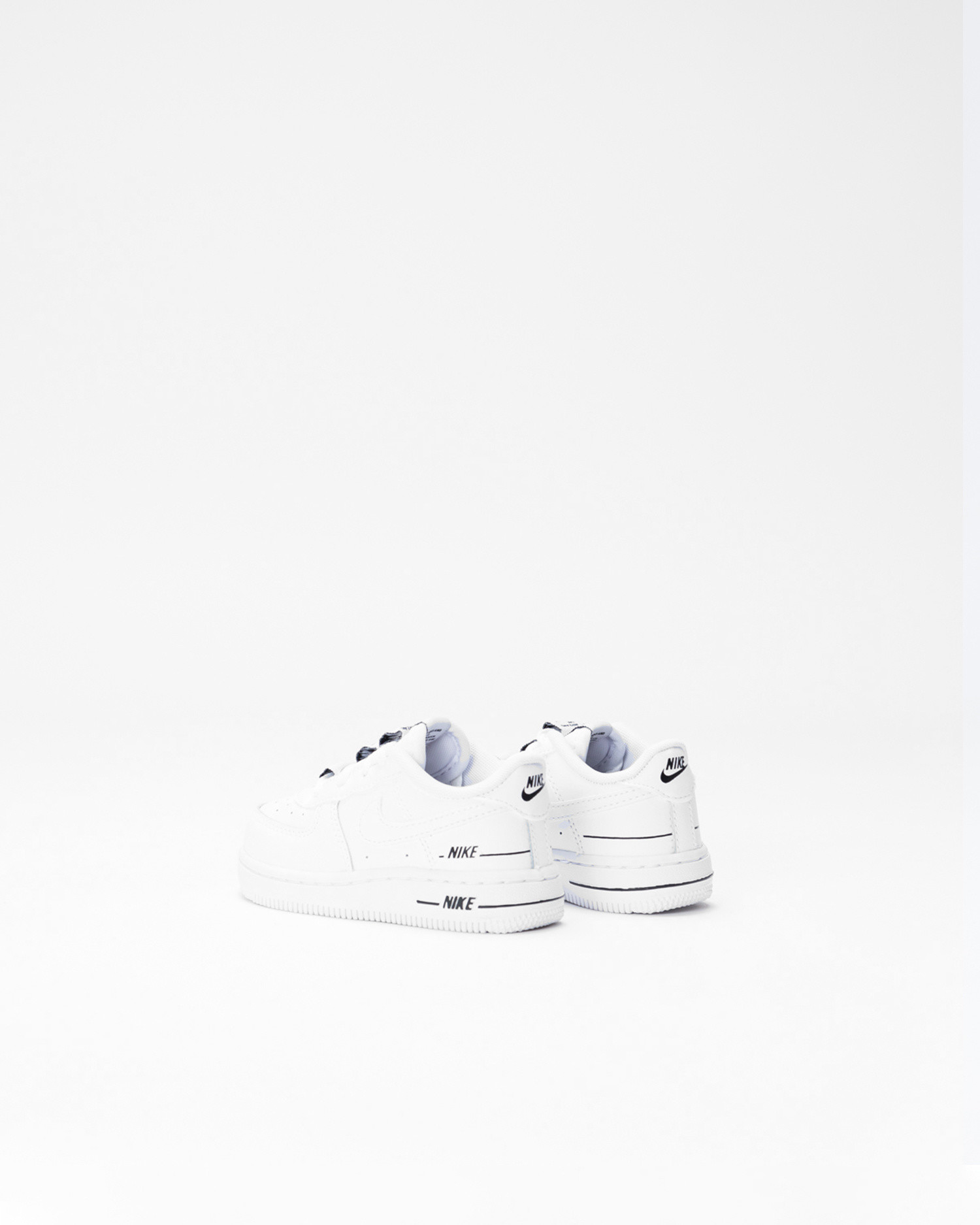Nike Force 1 LV8 3 White/White-Black
