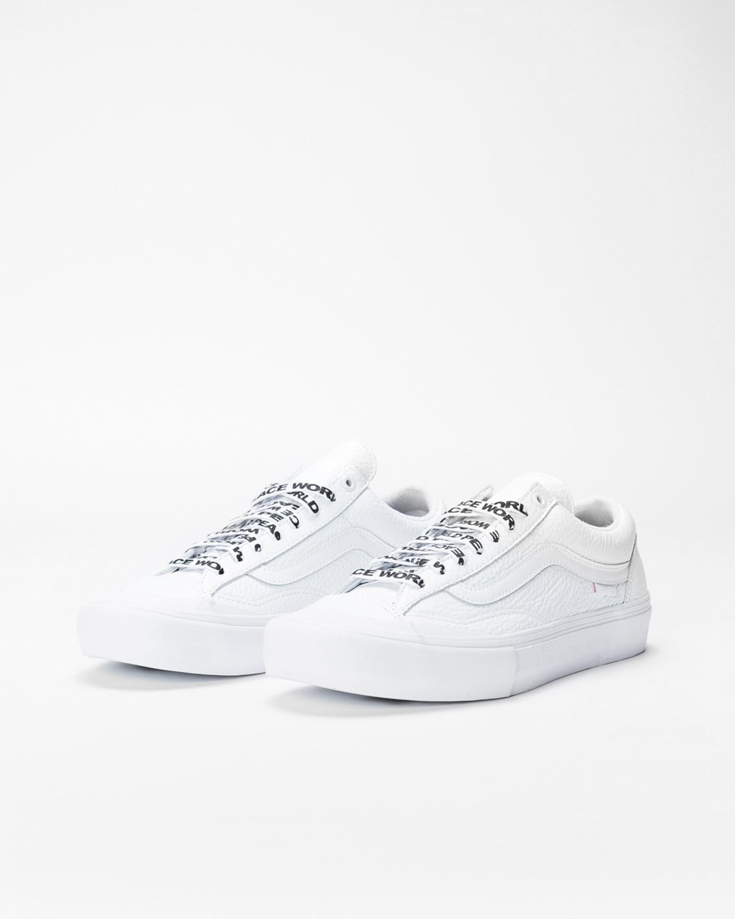 Vans Style 36 Pro Justin Henry White/White